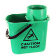 15 ltr twist mop bucket - green